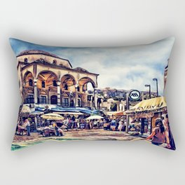 Athens place Rectangular Pillow