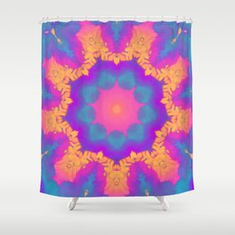 Entheogen V.2 Shower Curtain