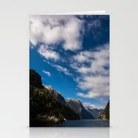 new zealand Stationery Cards featuring New Zealand by Michelle McConnell