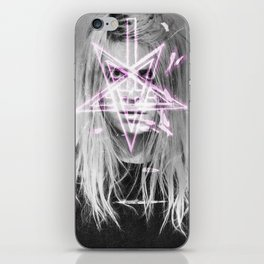 Unholy in Pink iPhone Skin