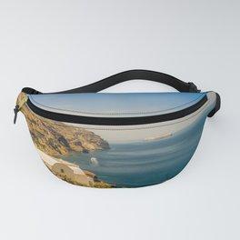 Beautiful landscape with sea view of the Nea Kameni, a small Greek island in the Aegean Sea near San Fanny Pack