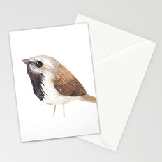 Black Throated Sparrow Stationery Cards