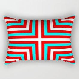 Christmas Chevrons RTW Rectangular Pillow
