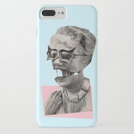 Retreat to the empty safety of the womb iPhone Case