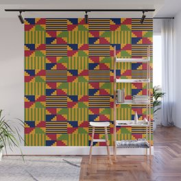 African Kente Pattern 9 Wall Mural