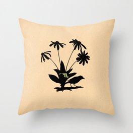 Maryland - State Papercut Print Throw Pillow