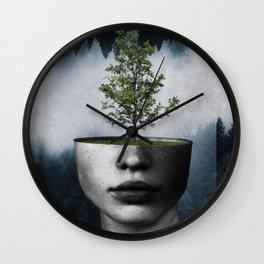 Tree lady Wall Clock