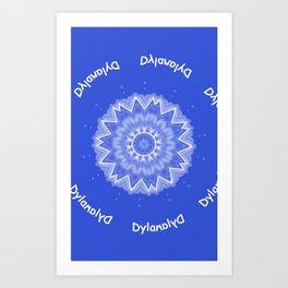 Dylan-forward and backward! Art Print