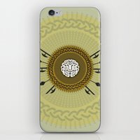 agents of shield iPhone & iPod Skins featuring Shield  by Daniac Design