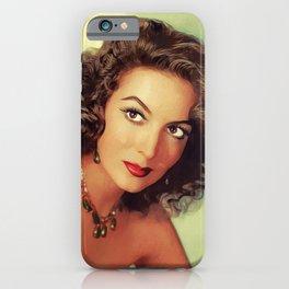 Maria Felix, Vintage Actress iPhone Case