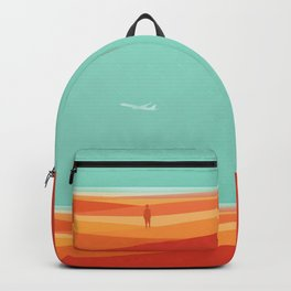 Where the sea meets the sky Backpack