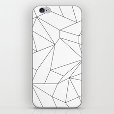 Mountain Grid Gradient Black iPhone & iPod Skin