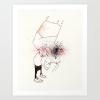 Put it back together Art Print