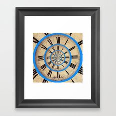 Spiral of Time Framed Art Print