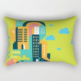 my home my city Rectangular Pillow