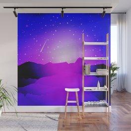 Purple Night Wall Mural