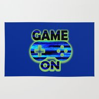 video game Area & Throw Rugs featuring Game On by UMe Images