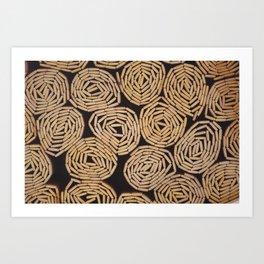 Rolled Mats Art Print