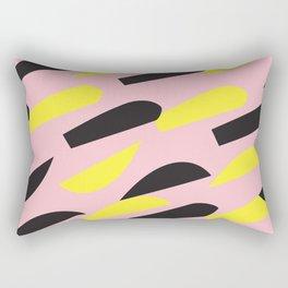 pattern no.6 / more than happy Rectangular Pillow