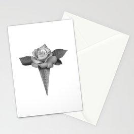 Rose Cream Stationery Cards