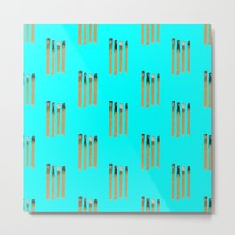 Chill Out Matches Metal Print