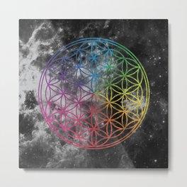 Sacred Geometry Universe 6 Metal Print