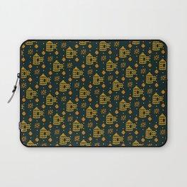 Gold Hand Birdcage Laptop Sleeve
