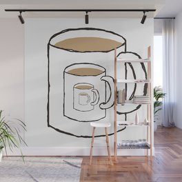 Existential Mug Wall Mural