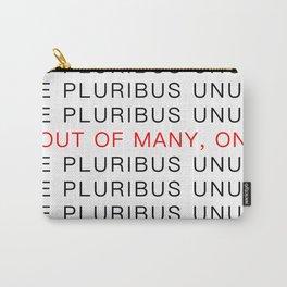 E Pluribus Unum Carry-All Pouch
