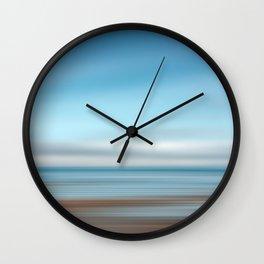 Tide Pool, Abstract Ocean Wall Clock
