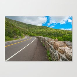 Whiteface Mountain Road Canvas Print
