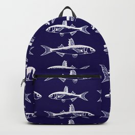 Midnight Fish Backpack