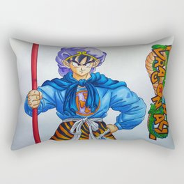 Goku as The Monkey King Rectangular Pillow