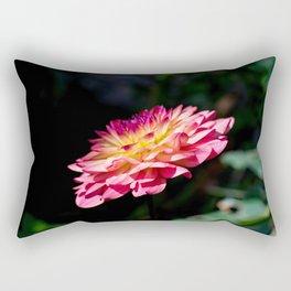 Dahlia flower in full bloom Rectangular Pillow