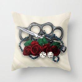 Feelin Lucky, Princess? Throw Pillow