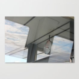 Copenhagen Metro reflection Canvas Print