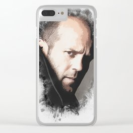 A Tribute to JASON STATHAM Clear iPhone Case