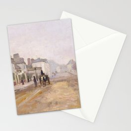 Boulevard Héloise, Argenteuil (1872) by Claude Monet Stationery Cards