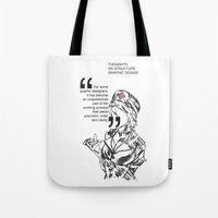 medicine Tote Bags featuring Structure's Medicine by Cat Milchard