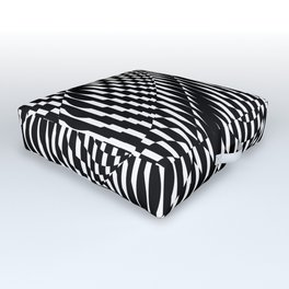 Op Art #1 Outdoor Floor Cushion