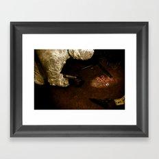 Scene/Unseen Framed Art Print