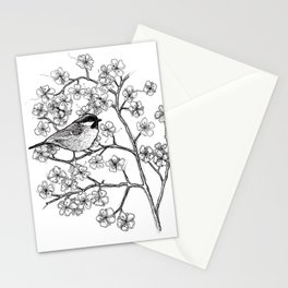 spring bird Stationery Cards