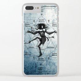 Shiva as Nataraja Clear iPhone Case