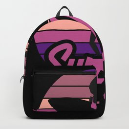 Surfer Girl Surf Club Surfing Surfing Backpack