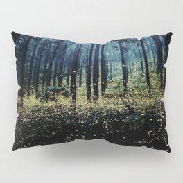 Twilight Fireflies Pillow Sham