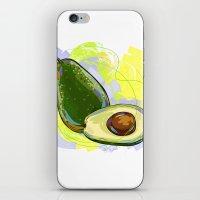 vietnam iPhone & iPod Skins featuring Vietnam Avocado by Vietnam T-shirt Project