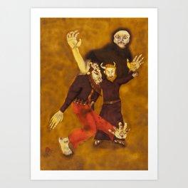 The Sold Soul / A Alma Vendida Art Print