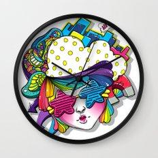 Future's Starry Bright Wall Clock