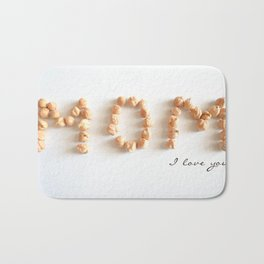 Mom I love you Bath Mat