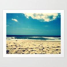 Atlantic View Art Print